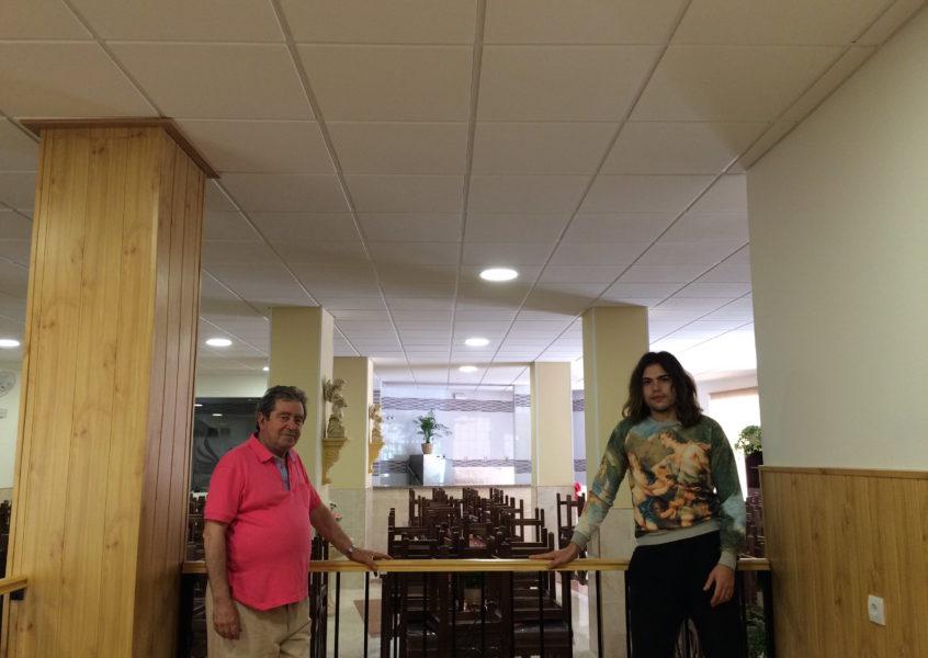 Felicidades ángeles malagueños de la noche por la inauguración del comedor social
