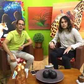 PTV Málaga-26/07/2016. Entrevista a Rafael Jiménez sobre las obras Revolution, Vandór solidario y mucho más, desde el tiempo: 1:14:00