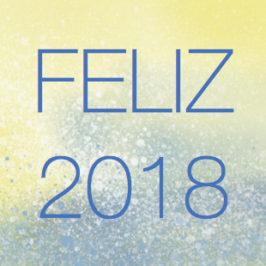 Felices fiestas y año 2018