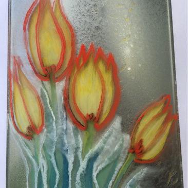 Tulipan desecho