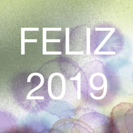 Felices fiestas y año 2019