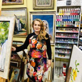 Directora de la galería de artes El Encuadre
